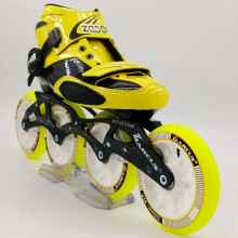 zodor professional speed skating shoes of adult male and female children's skates speed roller skates roller skate wheels G13