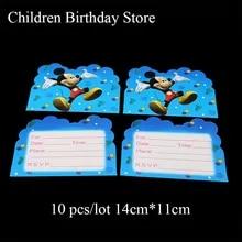 Compra Mickey Mouse Invitations Y Disfruta Del Envío