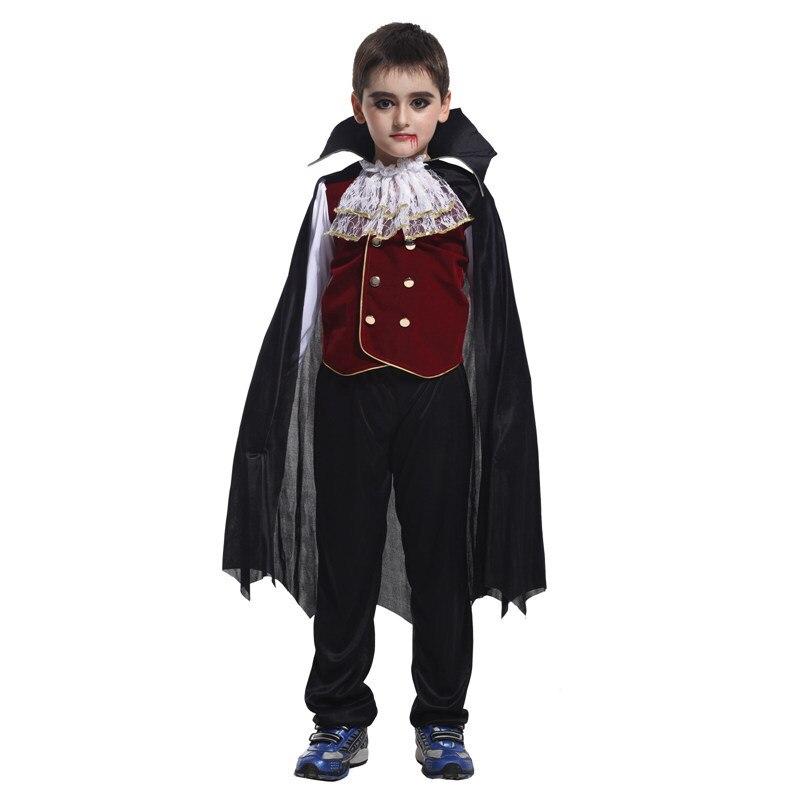 Chlapci děti Dětský upír Halloween kostým, gotický / Dracula upír