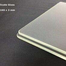 3d Yazıcı Inşa Plaka 165x165x3mm 3D Yazıcı cam plaka Borosilikat Cam Ender 2 Creality