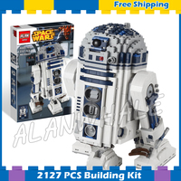 2127pcs New Space Wars Ultimate Collector R2D2 Robots 05043 Big Size Model Building Blocks Gifts Sets