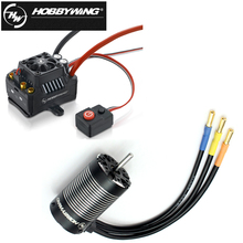 1set Hobbywing EZRUN 3660 G2 Motor Brushless Motor EZRUN Max10 120A ESC Waterproof Brushless ESC for