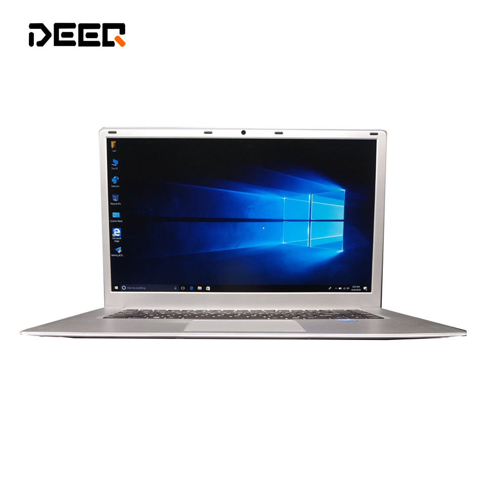 DEEQ Windows 10 Intel Celeron N3455 15.6 Inch DDR3 6G Ram 60gb 120gb 240gb Laptop Computer