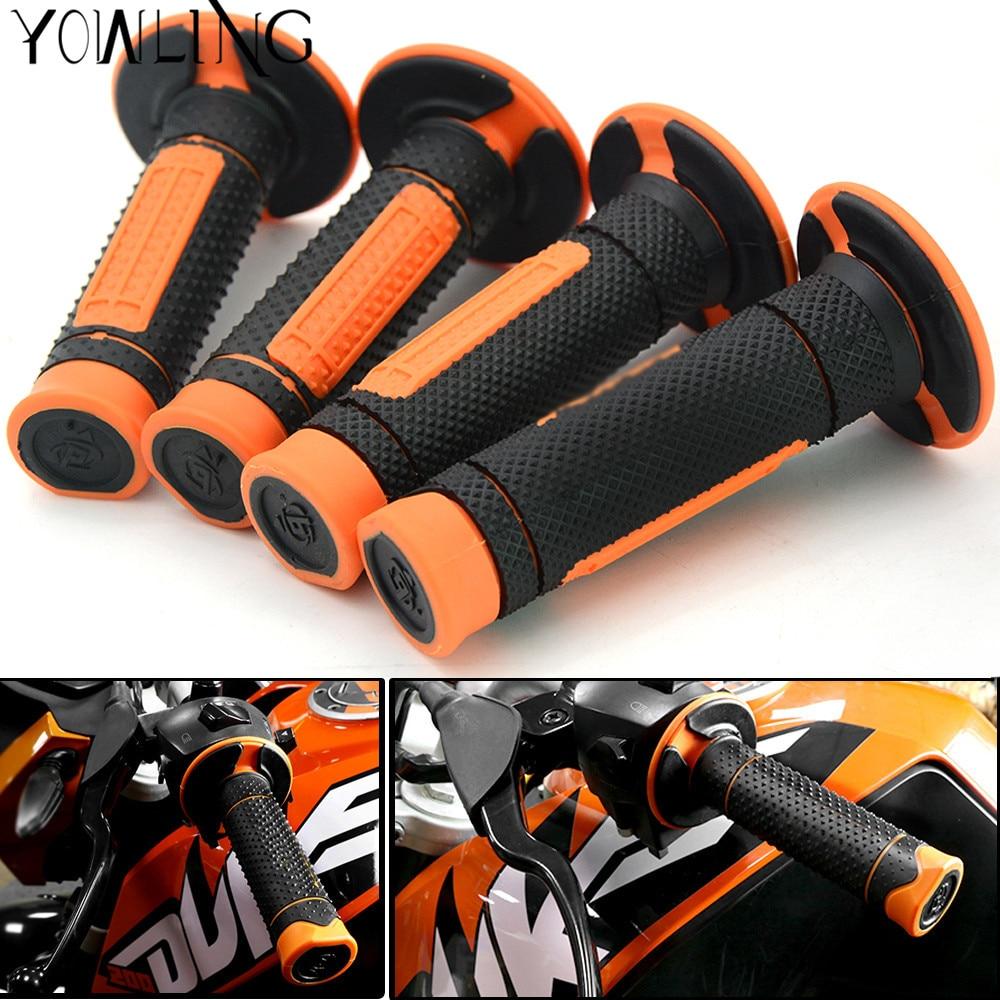 Rubber Gel Motorcycle Grips None-Slip Hand Grips For KTM 390 Duke RC390 DUKE 250 7/8