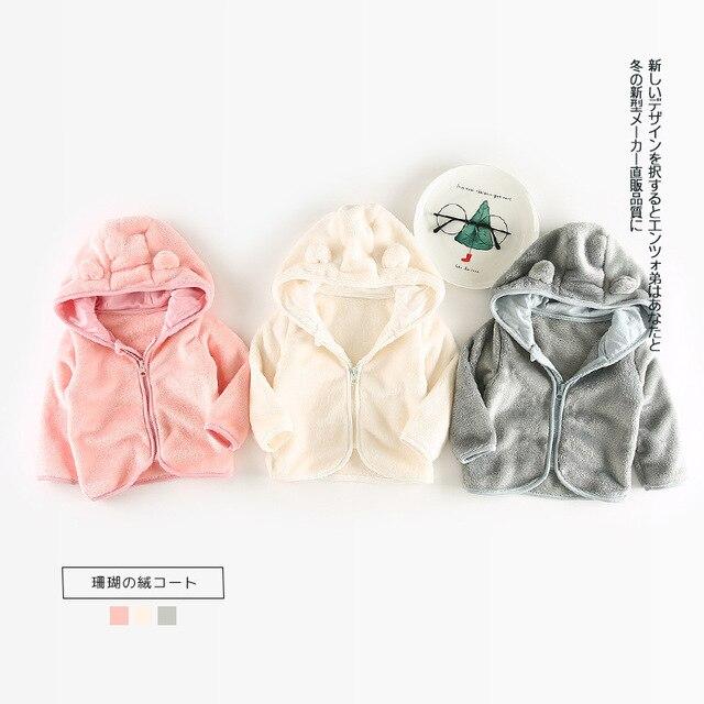 ad02cd74c83fc Bébé Veste Bébé D hiver Filles Vêtements Nouveau-Né Vêtements Chauds  Survêtement Bebe À