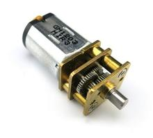 3V-6V 40-76 RPM N20 miniature gear motor Metal Gear Smart car / robot / DIY power tool accessories