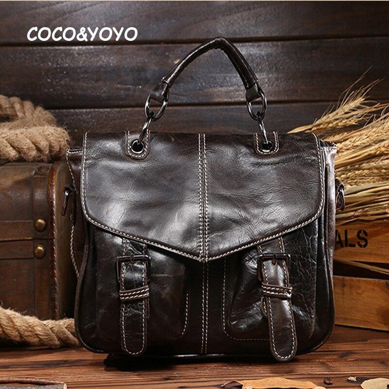 2016 Brand Design Fashion Genuine Leather Handbags High Quality Business Men Messenger Bags Casual Shoulder Bags Vintage bolsos wella краска для волос color touch relights 60 мл 9 оттенков 03 французская ваниль