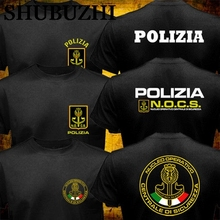 Counter T-Shirt Swat Tactical-Unit Italy Police Retro Nocs Summer Special-Forceshubuzhi