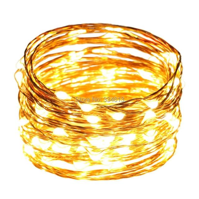 10 Mt 33FT 100 LEDs Kupferdraht LED Lichterketten Sternenhimmel ...