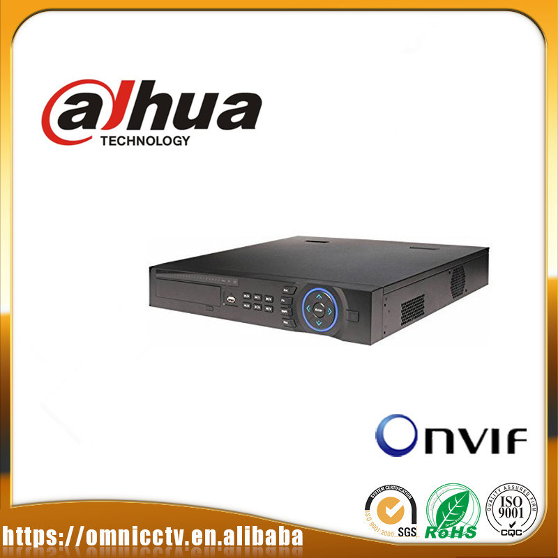 Original 16CH 16 PoE ports Network Video Recorder DAHUA NVR4416-16P support ONVIF And POE 1080P H.264/MJPEG DHL free shipping 16ch poe nvr 1080p 1 5u onvif poe network 16poe port recording hdmi vga p2p pc