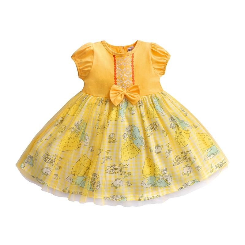 New Arrival Dresses Girls Halloween Princess dress girls Costume Kid's Party Dress Kids puff sleeve dress Girls Clothes Jq-295
