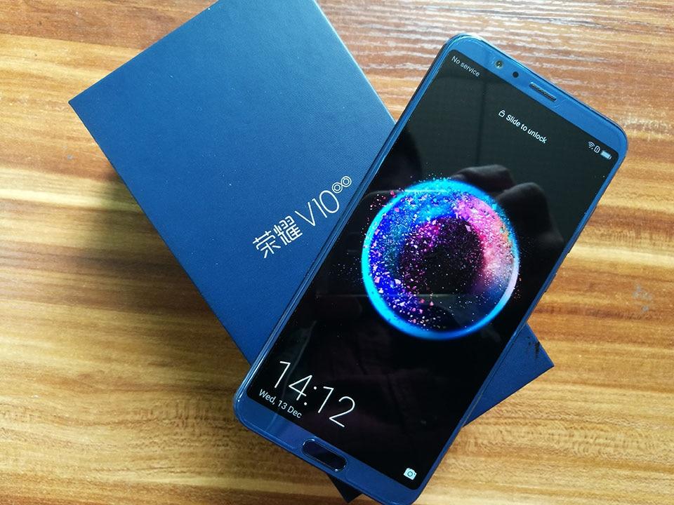 Honor View 10 Mobile Phone Android 8.0 Honor V10 Smartphone Kirin 970 Octa Core OTA NFC Fingerprint 5.99'' 1080P(China)