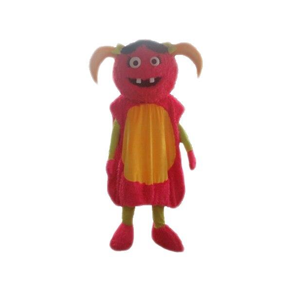 ̿̿̿(•̪ )2017 Nuevo Rojo Diablo Traje de La Mascota Trajes de La ...
