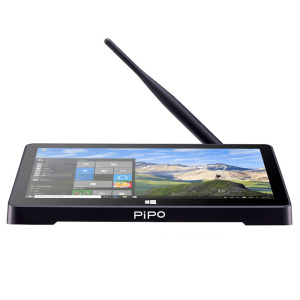 Image 1 - PIPO X8S Mini PC Dual HD Graphics Windows10 OS Intel Z3735F Quad Core 2GB/32GB 7 inch Screen Tablet TV BOX