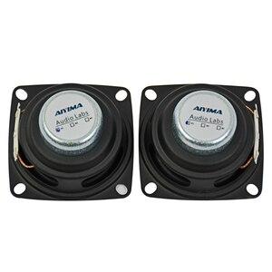 Image 5 - AIYIMA 2 adet 2 inç ses taşınabilir hoparlörler tam aralıklı hoparlör 4Ohm 12W DIY Stereo HiFi boynuz hoparlör ev sineması aksesuarları