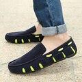 Elevador sapatos femininos na primavera e verão dos homens masculinos Coreano estudantes Coreano crianças doug preguiçosos flats