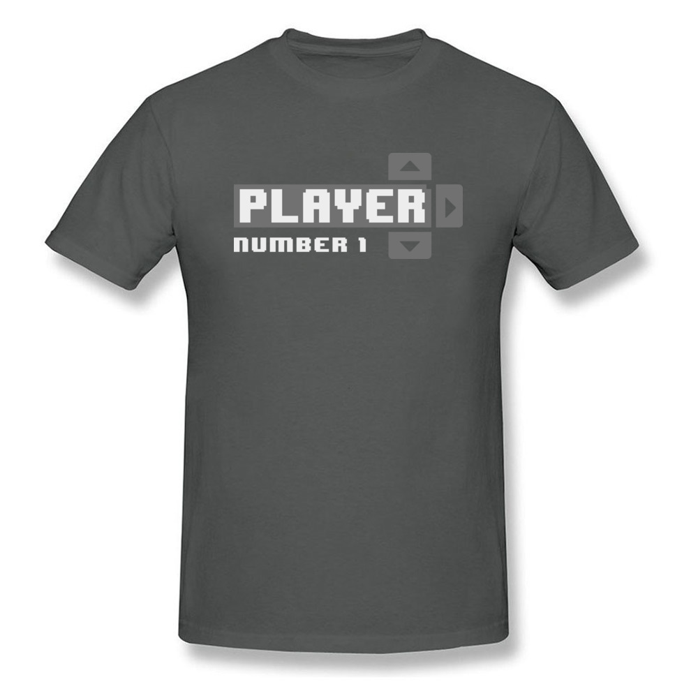 Player Number 1 All Cotton Tops T Shirt for Men Leisure T Shirt 3D Printed Prevailing O-Neck Tops Shirt Short Sleeve Player Number 1 carbon