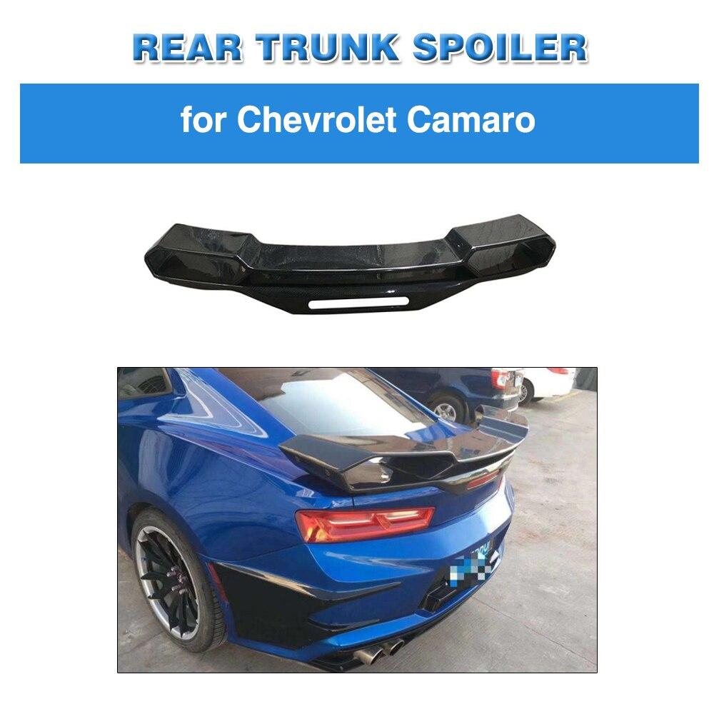 Eend Staart Spoiler Voor Chevrolet Camaro Coupe 2016 2017 2018 Carbon Fiber Kofferbak Spoiler Grote Aangepaste Wing Boot Lip