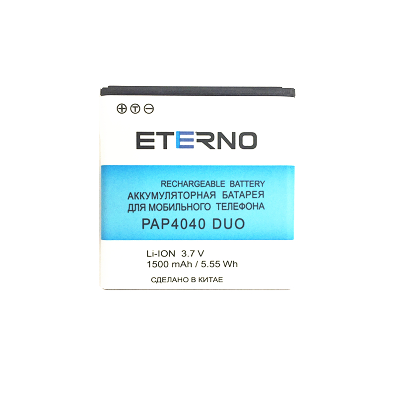 ETERNO mobile phone battery for prestigio multiPhone pap 4040 pap4040 Duo cell battery 1500mAh Hot Selling
