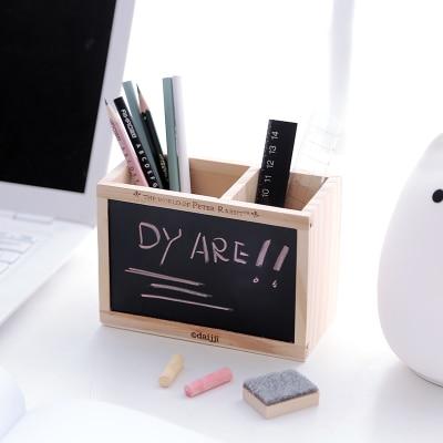 holders desk holder box functional multi item storage pen pu office stationery organizer leather
