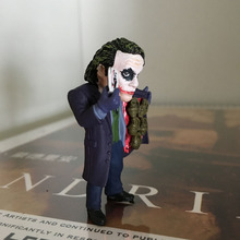 2017 Heath Ledger Joker Action Figure Toys 5cm PVC Batman The Dark Knight Joker Collection Model Toys
