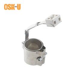 Elektryczny element grzejny 50mm ID 30/35/40/45mm wysokość grzejnik z taśmą ceramiczną moc 140 W/160 W/190 W/210 W do wtryskarka w Części do elektrycznych podgrzewaczy wody od AGD na
