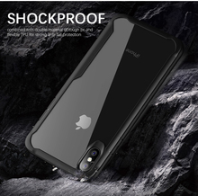 Shockproof Armor Case For iPhone XS XR 8 7 Plus Transparent Cover 6 6S 5 Max Luxury Silicone