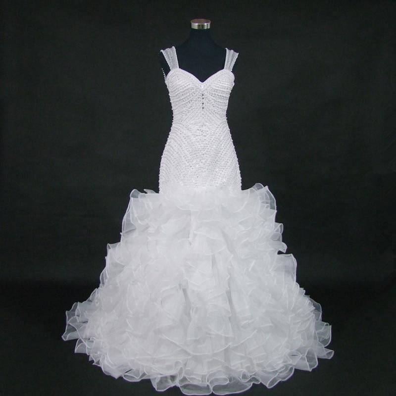 QQ Lover Amazing Back Mermaid Wedding Dress 2019 Full