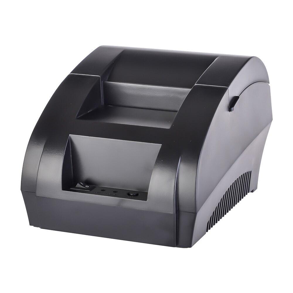 5890K 58mm Porta USB Impressora de Recibos Térmica E 5890T RS232 Impressora de Recibos Térmica Impressora de POS para Restaurante supermercado
