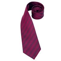 C-3122 Hi-Tie Luxury Silk Men Tie Striped Wine Red Necktie Handkerchief Cufflinks Set Fashion Men's Party Wedding Tie Set 8.5cm 2