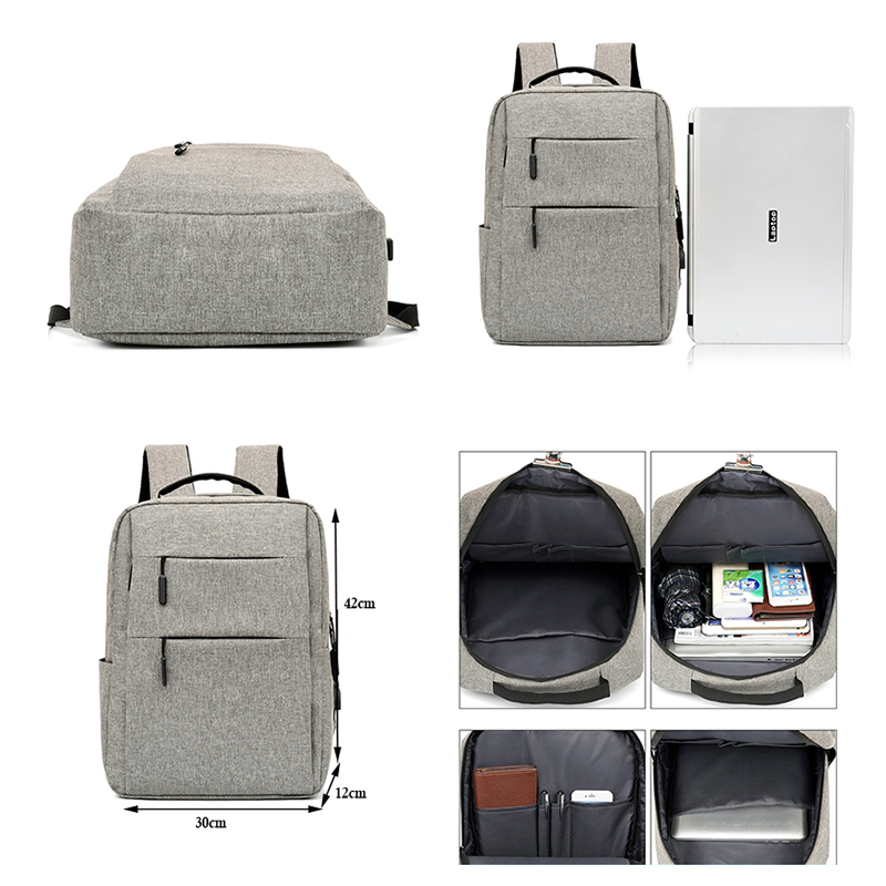 Laptop Backpacks Men Business Multi function Casual Backpack 15 6inch Anti Theft Oxford Backpack Female School Bag For Teenagers in Backpacks from Luggage Bags