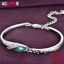 Austrian Crystal Bracelets Solid 925 Sterling Silver Woman Fashion Charm Bracelets Wedding Engagement Jewelry хна для бровей cc brow cc brow cc003lwxzk00