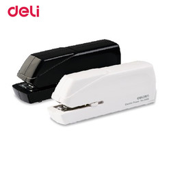 Deli New electric Stapler Book Sewer Cartoon Set Office Normal Supplies Stationery 175/68/43mm Size Geometric Office Stapler