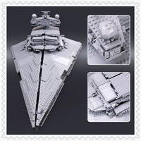 3250Pcs Star Fighters Starship Destroyer Model Building Block Toys LEPIN 05027 Figure Gift For Children Compatible