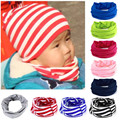 New 100% Cotton Baby Scarf Kids Neckchief Printed Scarves For Baby Boys O Ring Collar Neck Warmer 2017 Autumn Winter