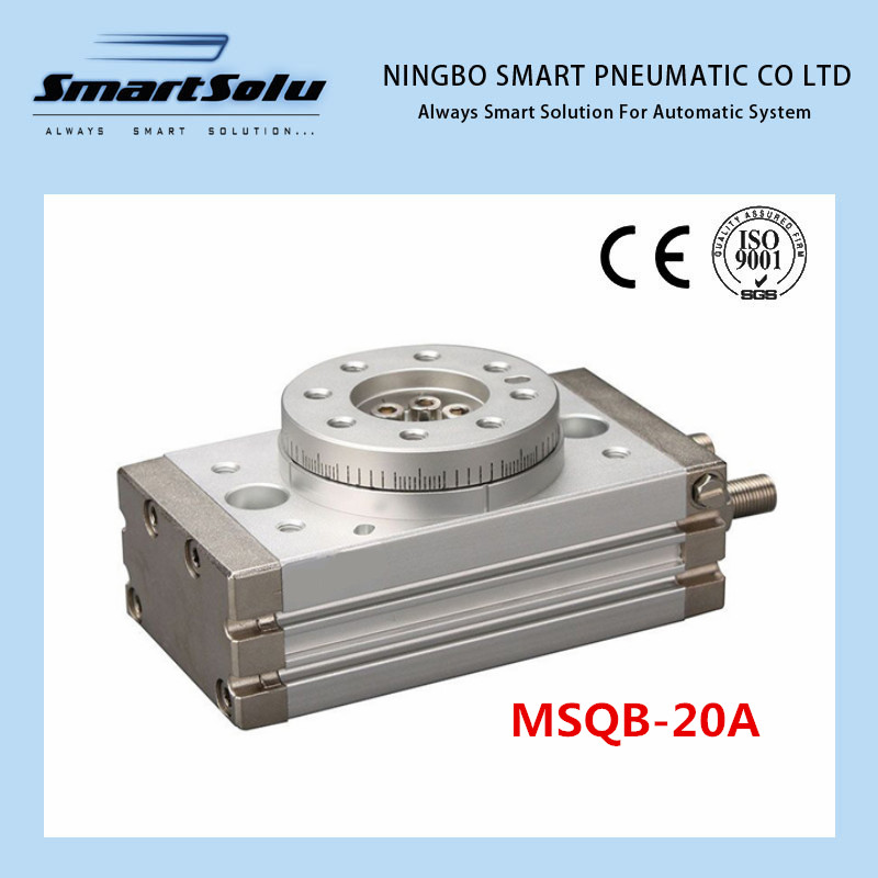 Free shipping double acting air table actuator pneumatic