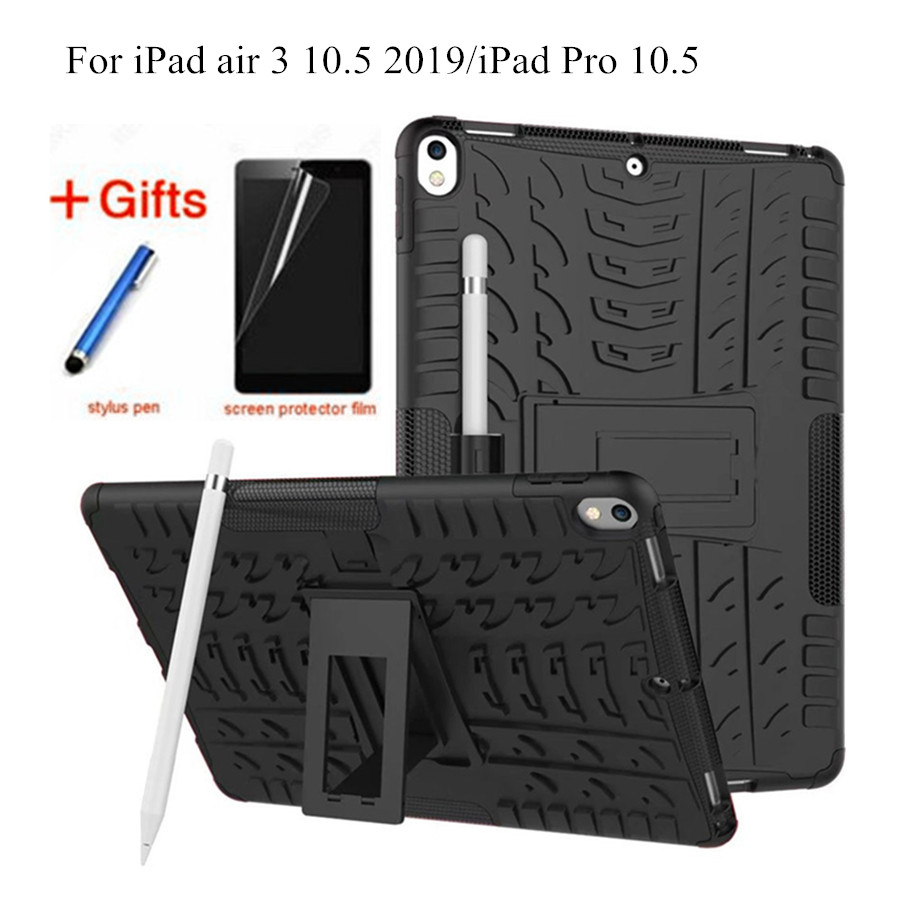 Heavy Cases for Apple iPad Pro 10.5, Shock Proof Kids Children Safe TPU&PC Duty armor back cover ipad pro mini 10.5