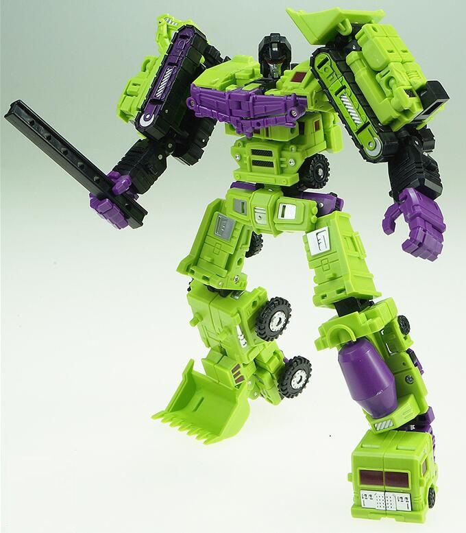 Action Toys For Boys : Pcs lot devastator action figure classic toys for