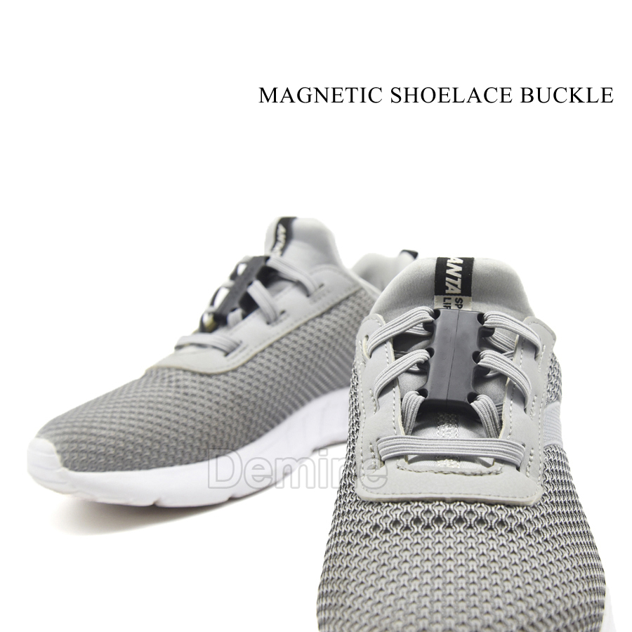 1 Pair Shoelace Very Strong Magnetic Buckle for Sneakers Casual Shoes Sports Flat Shoes Shoelaces Fashion Lazy No Tie Shoe laces in Shoelaces from Shoes