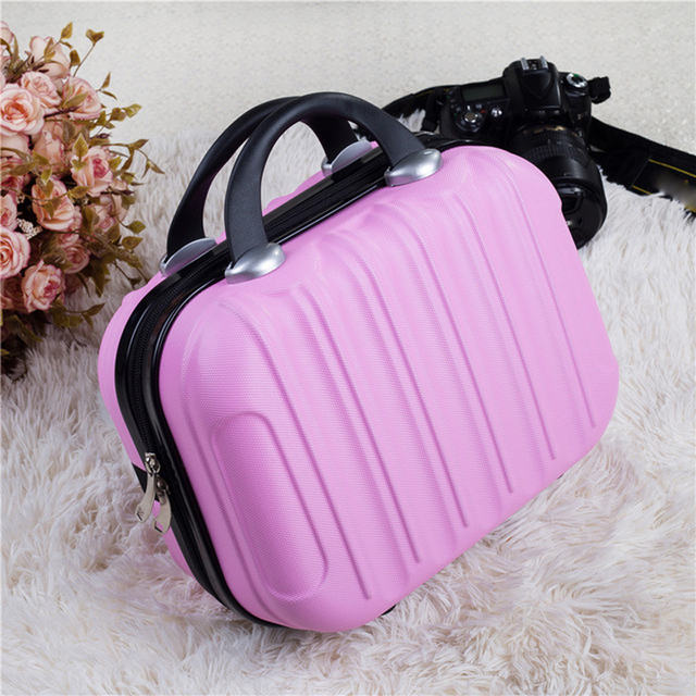 For Women Professional Cosmetic Case Beauty Makeup Necessary Waterproof Cosmetic Bag Suitcase For Adults Portable Cosmetic 3