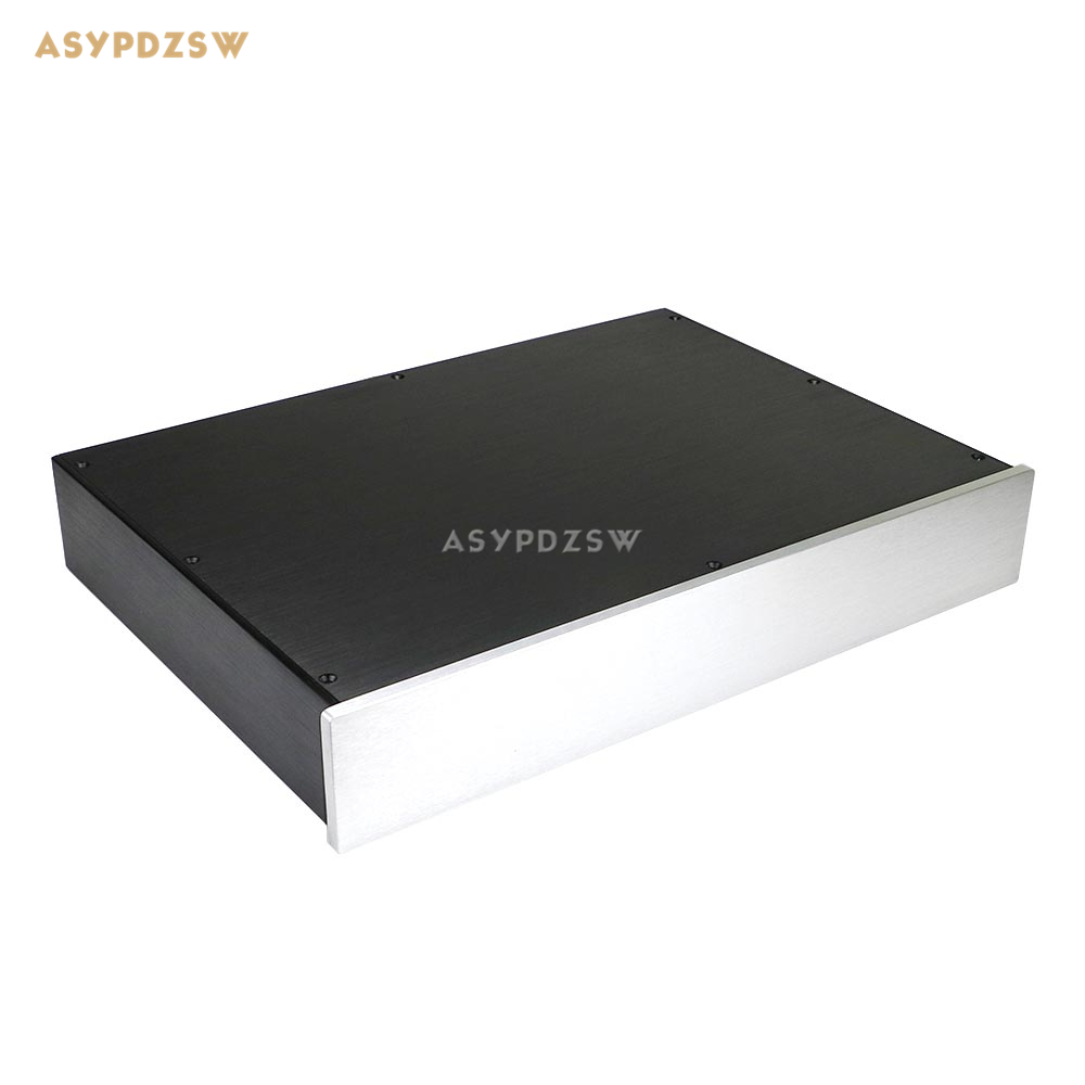 BZ4307 Full aluminum Preamplifier enclosure Power amplifier chassis DAC Decoder case 430*70*308mm стоимость
