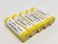 MasterFire 20 pcs/lot 3.2V LifePO4 18650 1100mah APR18650M1A batterie Rechargeable Batteries 20A 15C pour mod mech pack outil électrique