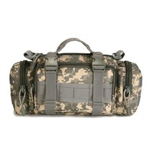 Canvas Multifunctional Camo Fanny Pack Pocket Pouch Travel Mobile Camping Waist Hip Bum Belt Bags
