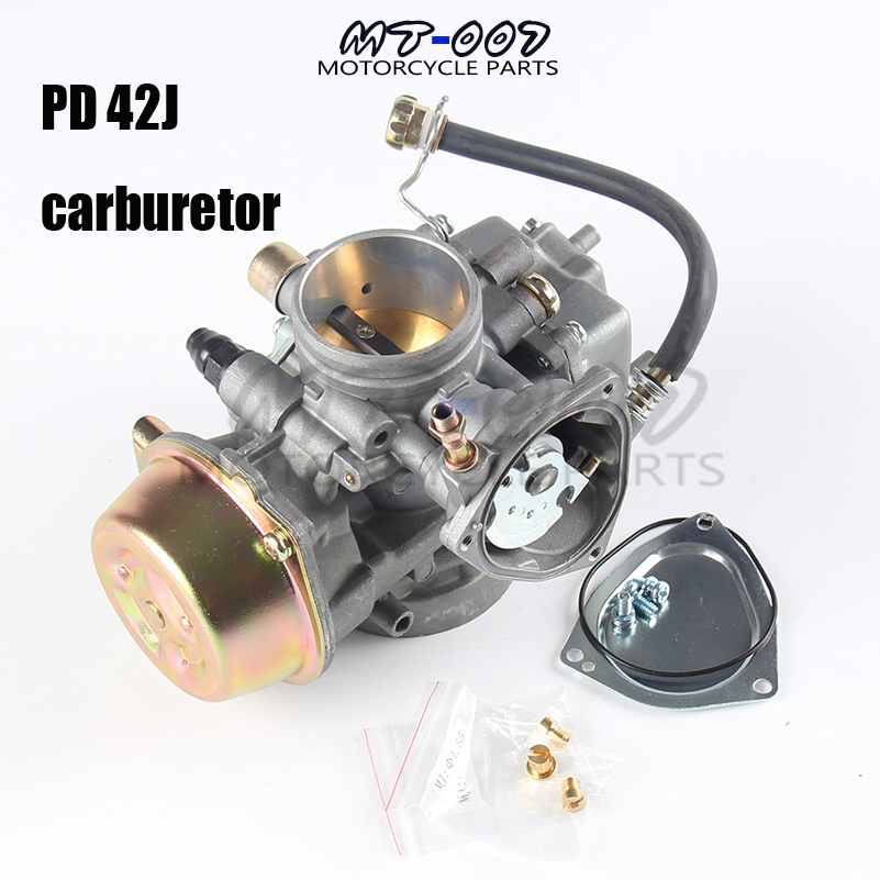PD42J Vergaser Carburetor for Yamaha honda and other 500cc 600cc 700cc hisun UTV ATV Motorrder Quads ironwalls xxxl atv waterproof cover outdoor protector camo black silver for honda banshee suzuki yamaha raptor quads polaris 3xl