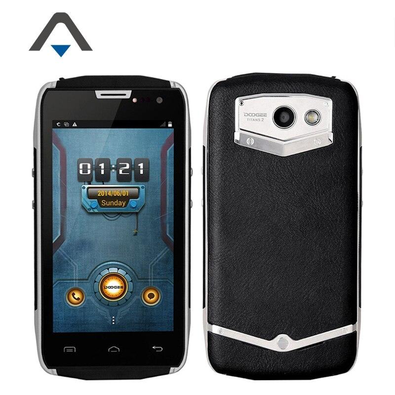 "Original Doogee DG700 TITANS 2 IP67 Waterproof Cell Phone 4.5"" MTK6582 Quad Core 1GB RAM 8GB ROM 8MP 4000mAh OTG 3G WCDMA Stock"