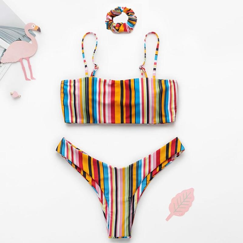 Push up swimsuit Print micro bikini 30