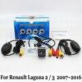 Câmera de Visão traseira Para Renault Laguna 2/3 2007 ~ 2015/Com Fio ou Conector RCA Sem Fio CCD Night Vision/Lente Grande Angular Câmera