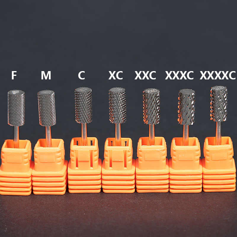 2 PCS / Lots High Quality Tungsten Carbide Tipped Drill Bits For Manicure Machine Remove Nail Gel Bur Drill Accessories
