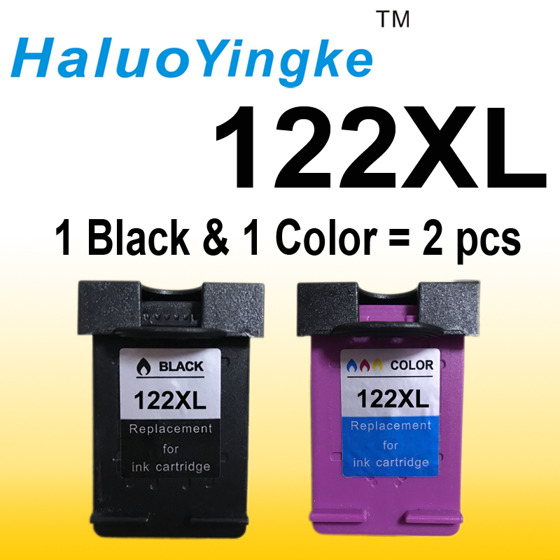 122 XL Ink Cartridge Compatible for HP 122 for Deskjet 1000 1050 2000 2050 2050s 3000 3050A 3052A 3054 1010 1510 2540