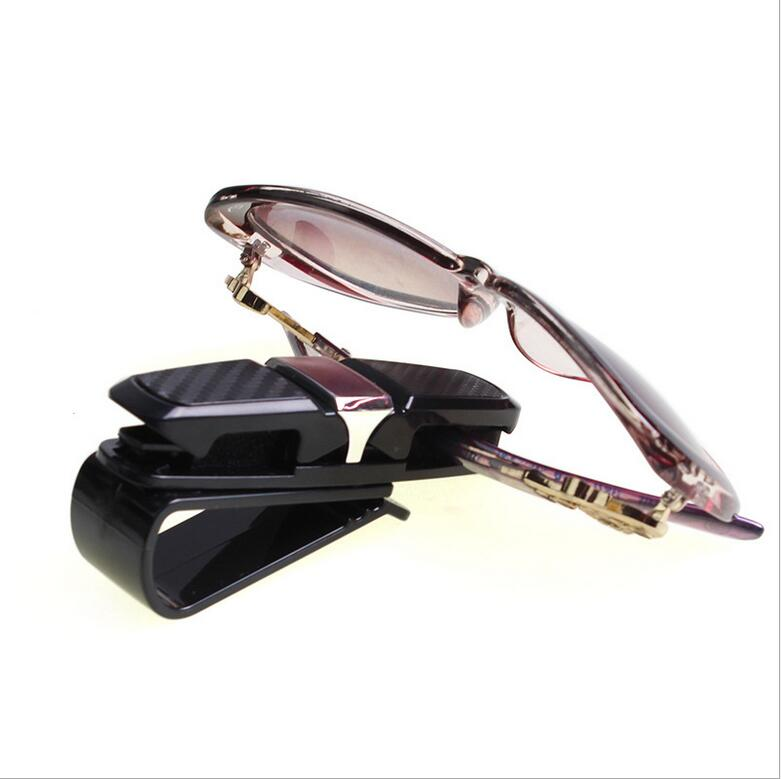 Universal car sun visor sunglasses ticket business card holder clip universal car sun visor sunglasses ticket business card holder clip portable car glasses cases abs eyeglass card pen holder in glasses case from automobiles reheart Images